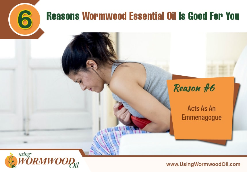 benefits of wormwood oil
